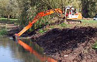 Marine Dredging Services on Rivers, Canals, basins & Channels