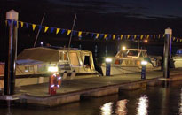 Floating pontoon moorings constructed in King's Lynn by Drake Towage