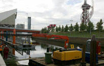 River Lee Landing Stages installed at the London 2012 Olympic Park